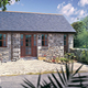 a stone holiday cottage in the Snowdonia National Park